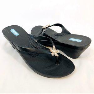 Oka b. Wedge Thong Sandals